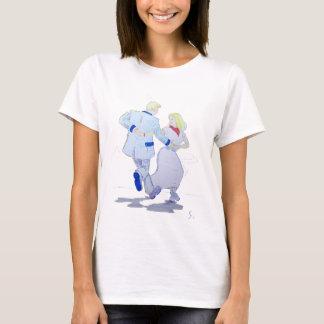 Modern Jive Ceroc Cartoon Couple T-Shirt