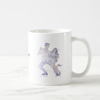 Modern Jive Ceroc Dancers Coffee Mug