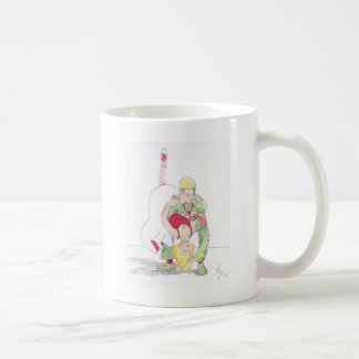 Modern Jive Ceroc Dancers Dip Coffee Mug