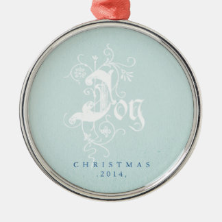 Modern Joy Christmas Ornament
