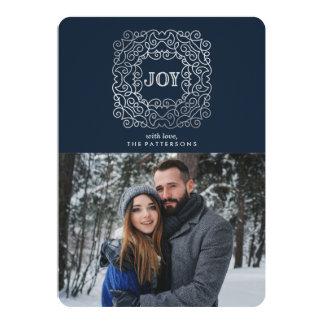 Modern Joy   Holiday Photo Card