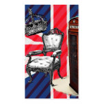 modern jubilee telephone booth london fashion business card