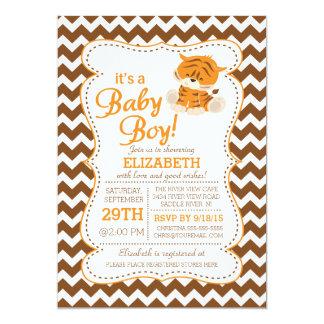 Modern Jungle Safari Baby Shower Invitation