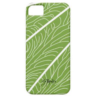 Modern Kalo Leaf -Green iPhone SE/5/5s Case
