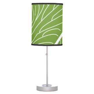 Modern Kalo Leaf - Green Table Lamp