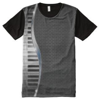 Modern Keyboard All-Over Print T-shirt