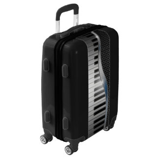Modern Keyboard Luggage Suitcase