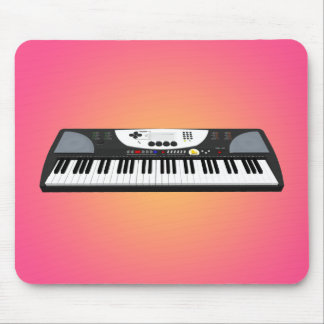 Modern Keyboard Synth: 3D Model: Mousepad