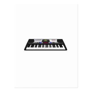 Modern Keyboard Synth: 3D Model: Postcard