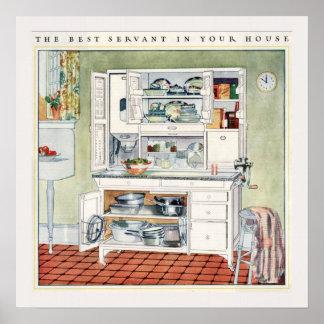Modern Kitchen 1923 Poster