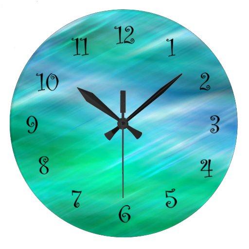 modern kitchen wall clocks zazzle