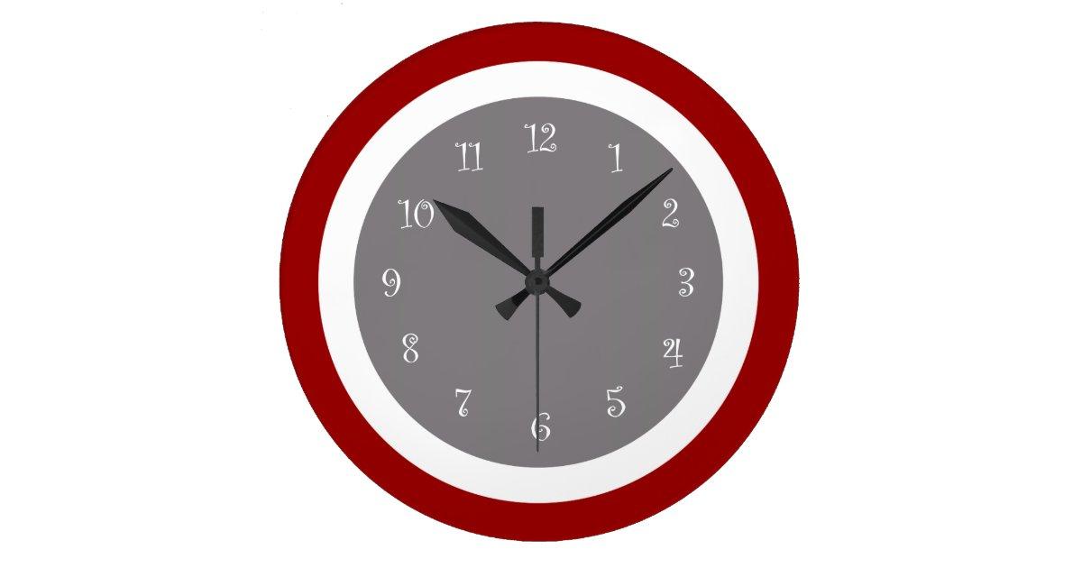 Large Modern Kitchen Wall Clocks: Modern Kitchen Wall Clocks
