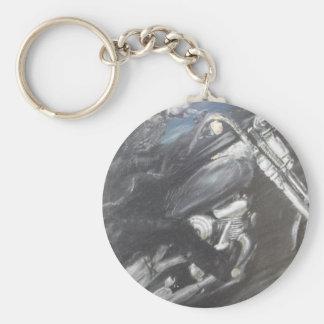 Modern Knight Keychain