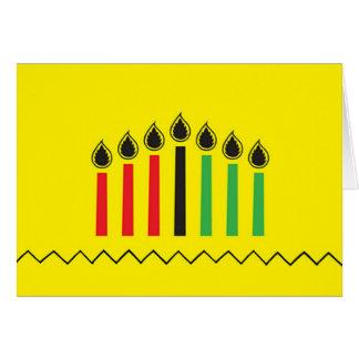 Modern Kwanzaa Kwanzaa Holiday Greeting Cards