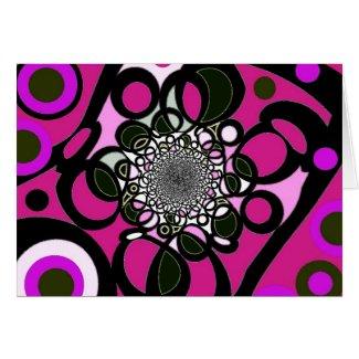 Modern Lace card