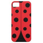 Modern Ladybug iPhone 5/5S Case