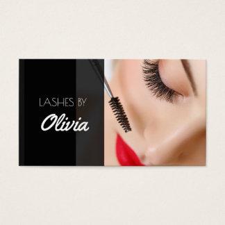 Modern Lash Extensions Beauty Salon Business Card