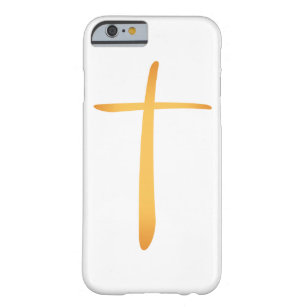 Modern Latin Christian Cross Barely There iPhone 6 Case