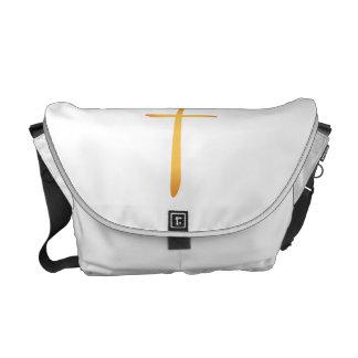 Modern Latin Christian Cross Messenger Bags