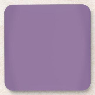 Modern Lavender Purple Customizable Drink Coaster
