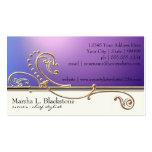 Modern Lavish Elegant Upscale Jewel Look Salon Spa Double-Sided Standard Business Cards (Pack Of 100)
