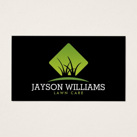 Lawn care business cards 600 lawn care business card templates modern lawn carelandscaping grass logo ii business card pronofoot35fo Gallery