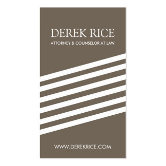 Modern Lawyer Business Cards