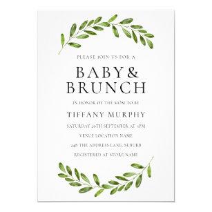 brunch baby shower invitations zazzle