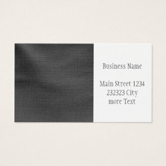 Modern leather structure business card