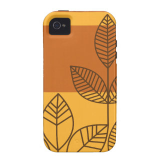 Modern Leaves iPhone 4/4S Case