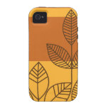 Modern Leaves iPhone 4/4S Cover