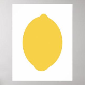 Modern Lemon print
