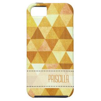 Modern Lines geometric gold iPhone SE/5/5s Case