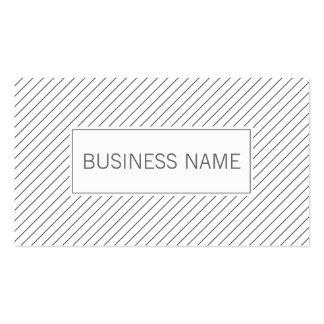 Modern Lines Meteorological Business Card
