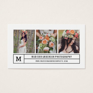Modern lines | Photography Business Cards
