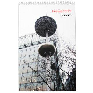 modern LONDON calendar