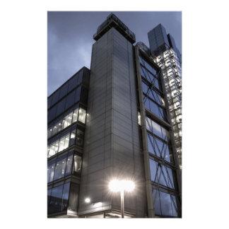 Modern London Skyscraper Stationery