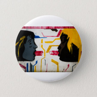 Modern Love - a special USB connection Pinback Button