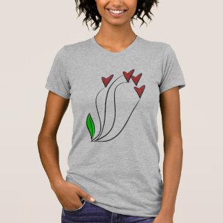 Modern Love Heart Roses Shirt