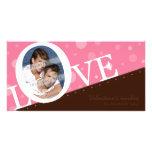 MODERN LOVE PHOTOCARD :: LOVEbubble L5 Custom Photo Card