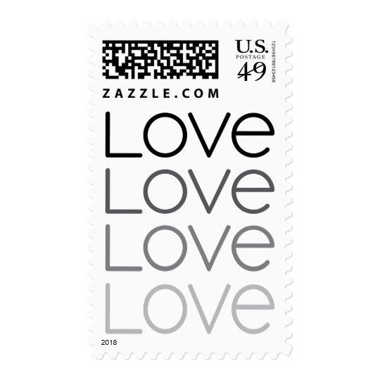 Modern love wedding or Valentines day postage