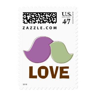 Modern Lovebirds Love Postage
