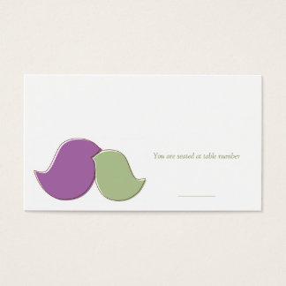 Modern Lovebirds, Place Cards