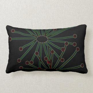 Modern Lumbar American MoJo Throw Pillow