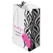 Modern luxe wedding bridesmaids favor gift bag