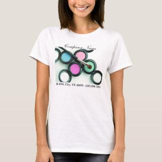 modern makeup artist business promotional T-Shirt