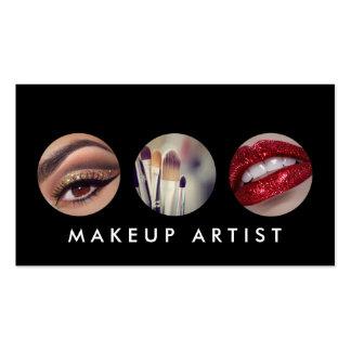Modern Makeup Artist Cosmetologist Business Card