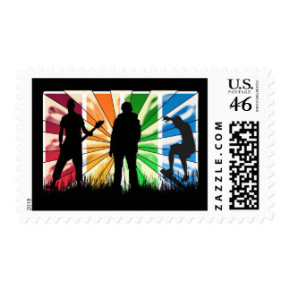 Modern Male Stamp
