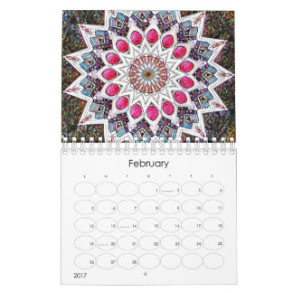 Modern Mandala Calendar