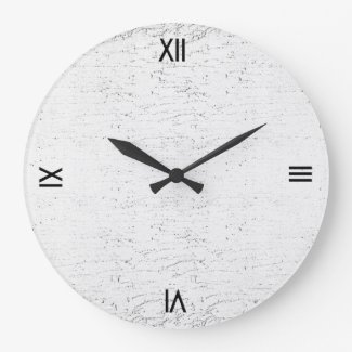Modern Marble Textured Wall Clock